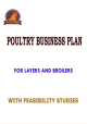 POULTRY BUSINESS PLAN AND FEASIBILITY STUDIES